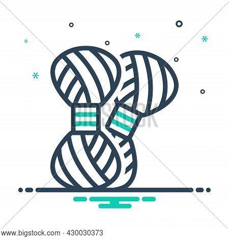 Mix Icon For Knitting-yarn Knitting Yarn Fiber Hobby Homemade Knit Knitwear Handicraft Woollen Threa