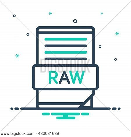 Mix Icon For Raw Curve Data Design Interface Folder Application File Document Format