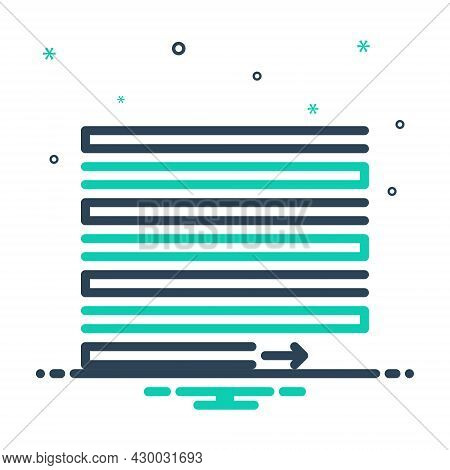 Mix Icon For Justify Vindicate Document Layout Interface Alignment Align Contend Verify