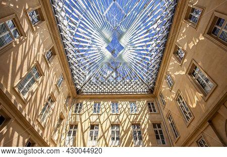 Interiors Of Hotel De La Marine, Paris, France