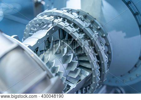 turbine metal mechanism details of background