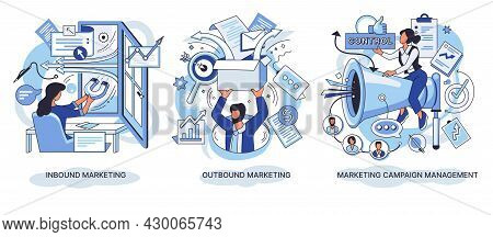 Inbound And Outbound Marketing. Campaign Managment. Email And Mobile Marketing. Professional Markete