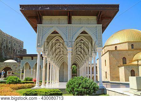 Stunning Ottoman Style Corridor Inside The Rabati Fort, Akhaltsikhe City, Historic Place In Georgia