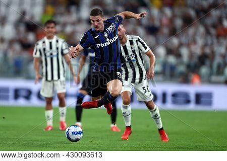 Torino, 14 August 2021. Robin Gosens Of Atalanta Bergamasca Calcio  During The Friendly  Match Betwe