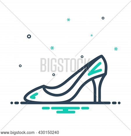 Heel Fashionable Pair Accessory High-heel-shoe Shoe Footwear Glamour Lady Sandal Femaleheel Fashiona