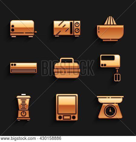 Set Cooking Pot, Electronic Scales, Scales, Electric Mixer, Blender, Air Conditioner, Citrus Fruit J