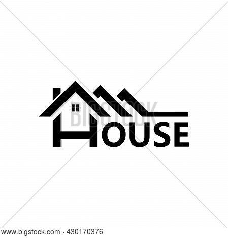 House Logo. House Icon Design Illustration. Trendy And Modern House Logo. House Logo Vector Design.