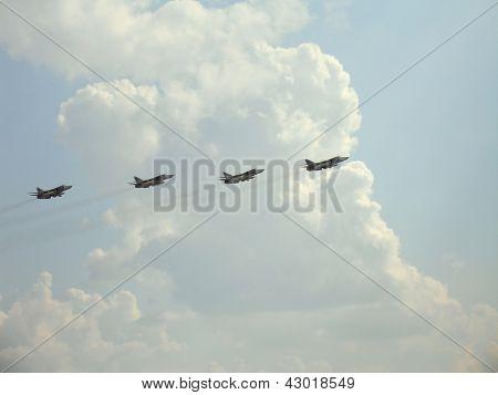 Four Fighters Su-24