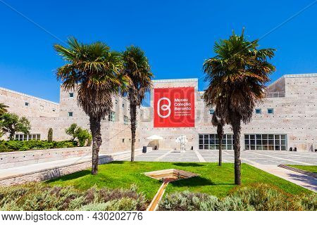 Lisbon, Portugal - June 25, 2014: Berardo Collection Museum Is A Museum Of Modern And Contemporary A