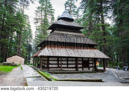 Hidimba Devi Temple Or Hadimba Or Dhungari Temple Is A Hindu Temple N Manali, Himachal Pradesh In No
