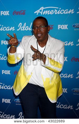 LOS ANGELES - MAR 7:  Randy Jackson arrives at the 2013