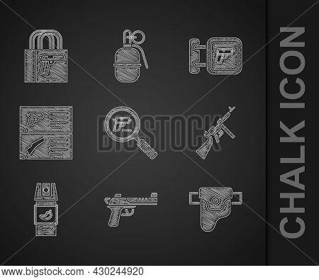 Set Pistol Or Gun Search, Desert Eagle, Gun In Holster, Tommy, Pepper Spray, Weapon Catalog, Hunting