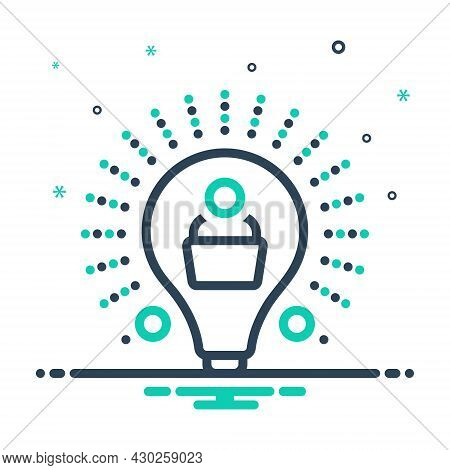 Mix Icon For Learn Cognize Study Publication Knowledge Encyclopedia Textbook Digital Education
