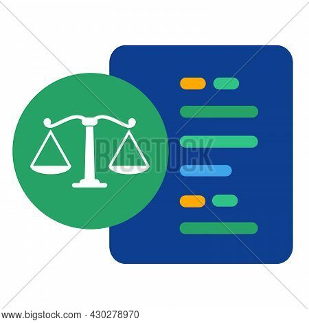 Algorithm Making Decision Thinking Analyzing Consider Make Judgement Concept Of Code In Law