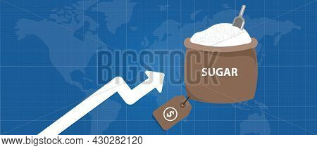 Sugar Price Up Rise In International Commodity Market Export Import Trading