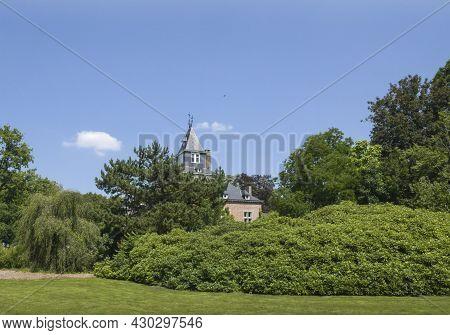 Hasselt, Limburg, Belgium 21-07-2021. Hasselt, Limburg, Belgium 16-07-2021. Fragment Of A Neo-romane