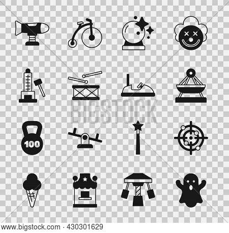 Set Ghost, Target Sport, Boat Swing, Magic Ball, Drum With Drum Sticks, Striker Attraction Hammer, S