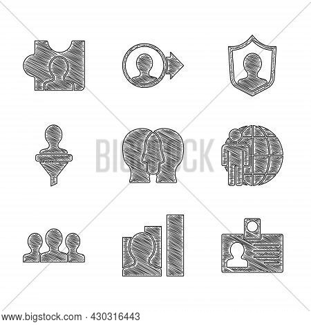 Set Project Team Base, Productive Human, Identification Badge, Head Hunting, Users Group, Protection