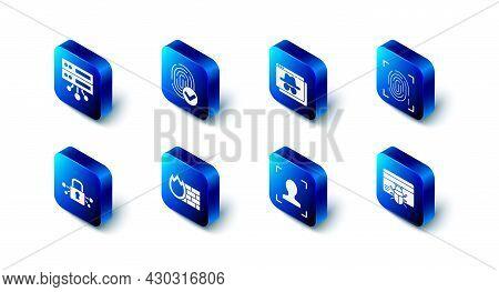 Set Fingerprint, Browser Incognito Window, System Bug Credit Card, Face Recognition, Firewall, Secur
