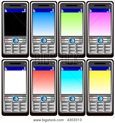 Eight Mobil Phones