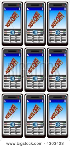 Nine Mobil Phones