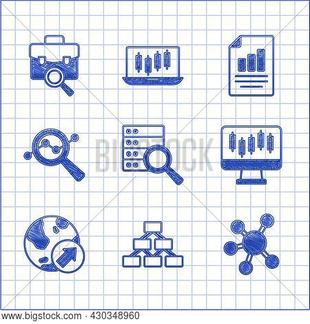 Set Server, Hierarchy Organogram, Project Team Base, Stocks Market Growth Graphs, Financial, Search