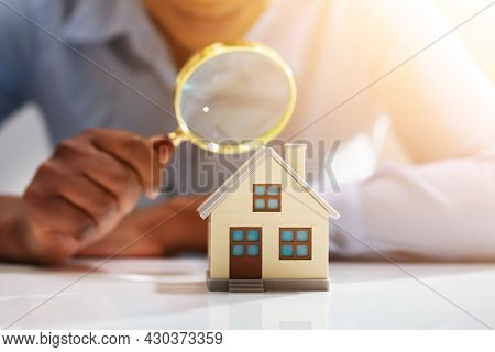Real Estate House Appraisal And Inspection. Checking Home
