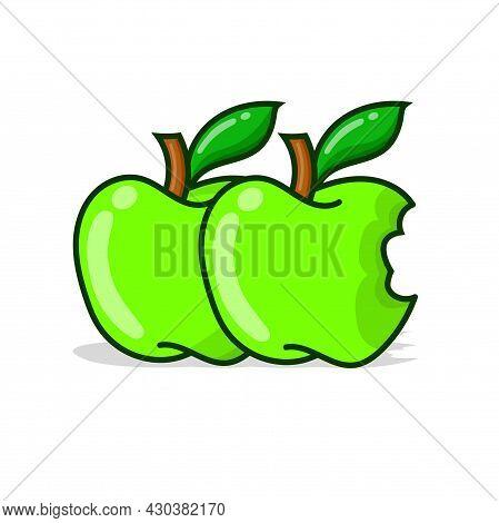 10 Green Apple Set