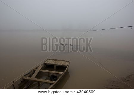 Foggy River In Punjab
