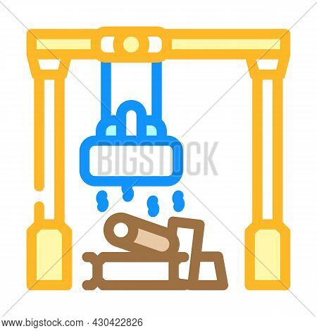 Sorting Metals Color Icon Vector. Sorting Metals Sign. Isolated Symbol Illustration