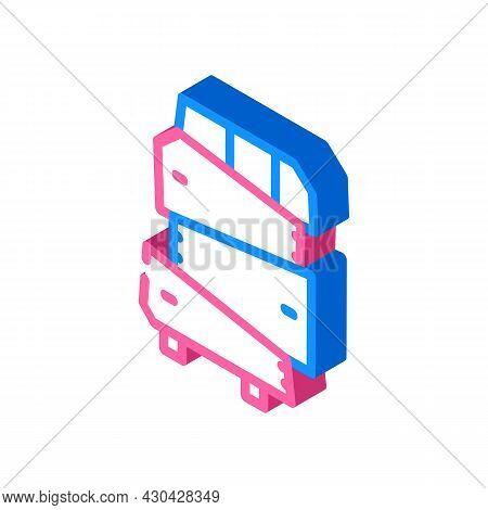 Non-standard Furniture Isometric Icon Vector. Non-standard Furniture Sign. Isolated Symbol Illustrat