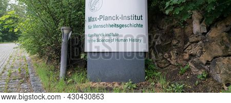 JENA, GERMANY - MAY, 29, 2016:The Max Planck Institute for the Science of Human History (MPI-SHH) in Jena was founded in 2014 to target fundamental questions of human history