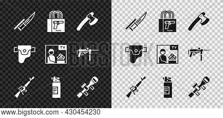 Set Bayonet On Rifle, Buying Gun Pistol, Wooden Axe, M16a1, Weapons Oil Bottle, Sniper Optical Sight