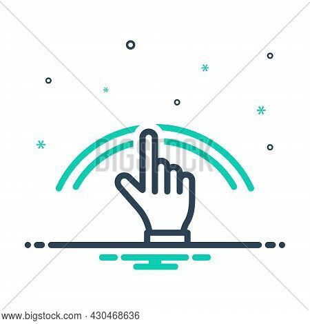 Mix Icon For Nobody No-one None Hand Gesture