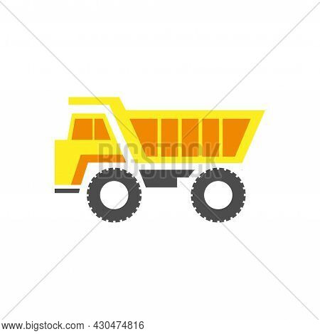 Truck Icon Simple Sign. Truck Cartoon Vector Illustration. Truck Design