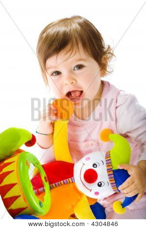 Happy Baby Playing