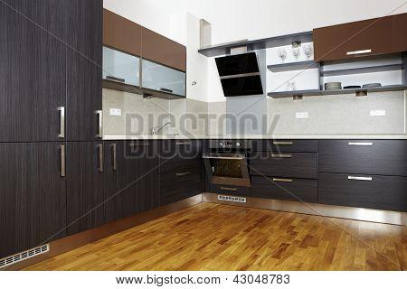 Nice and modern kitchen
