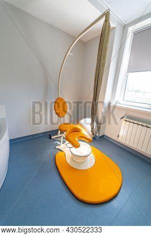 Stylish Modern Childbirth Ward. Maternity Ward For Newborns. Medicine And Interior Concept. Stock Ph