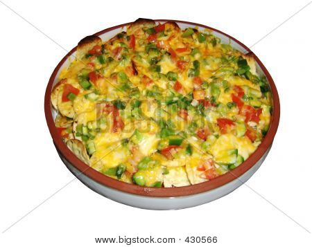 Nachos And Vegetables