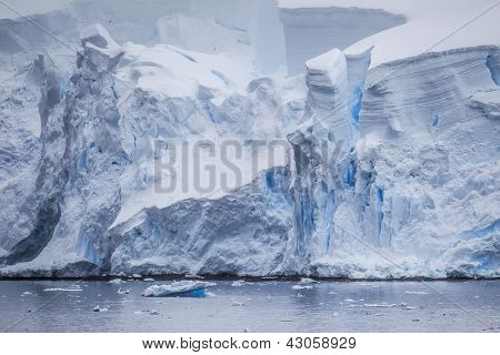 Antarctic Iceberg View