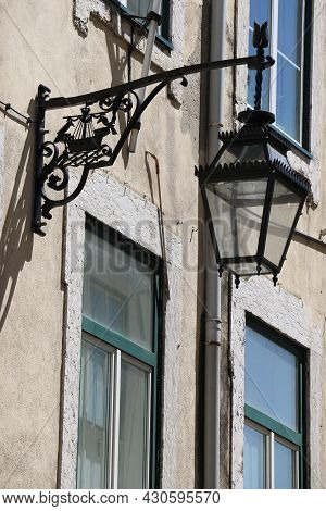 Detail Of A Traditional Building In Lisbon, Portugal