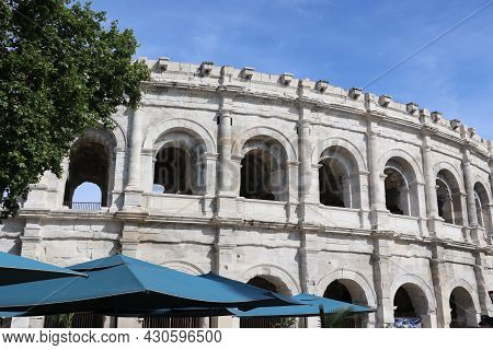 The Old Arena Of The City Of Nimes
