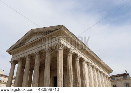 The Square House Of The City Of Nimes