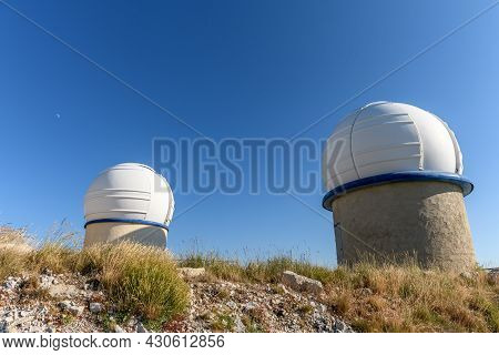 Astronomical Observatory Of The Cosmodrome In Drôme In France.