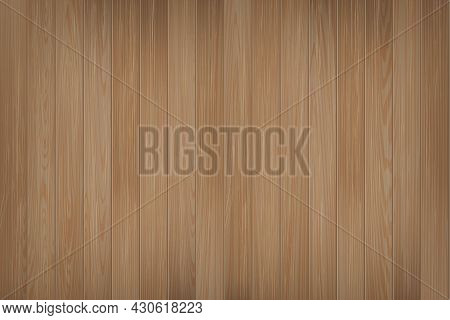 Vector Realistic Wood Texture Natural Dark Brown Oak Tree Table Floor Or Wall Surface Background