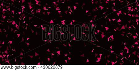 Purple Texture, Red Purple Background. Abstract Red Background For Designer. Blurred Copy Spase.
