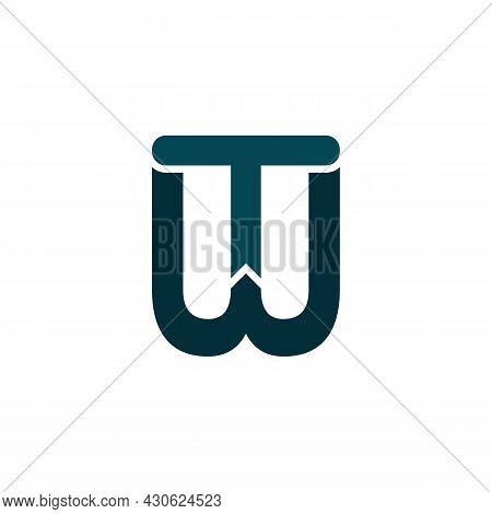 Illustration Vector Graphic Of Logo Letter Tw