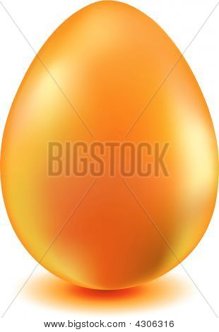 Golden Vector Egg
