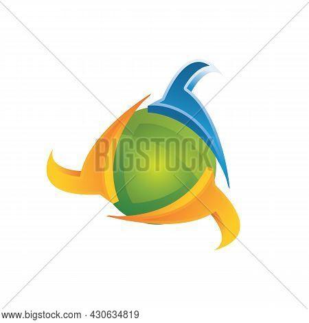 Cyber Security Shield Symbol Design. Information And Network Safe Protection Symbol Vector Design. V