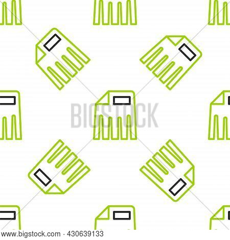 Line Paper Shredder Confidential And Private Document Office Information Protection Icon Isolated Se